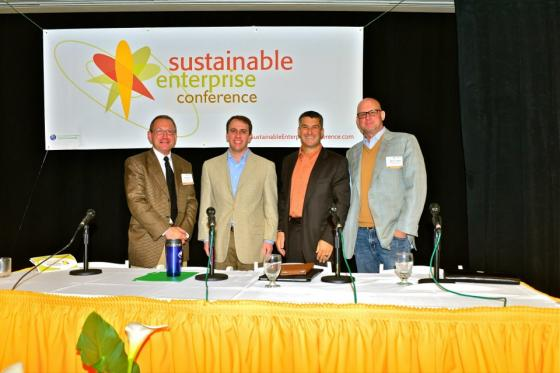 Business, policy and education collaborate for sustainable enterprise.